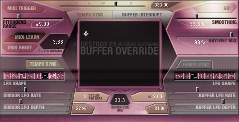 bufferoverride